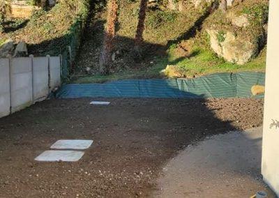 Terrassement et aménagement de jardin